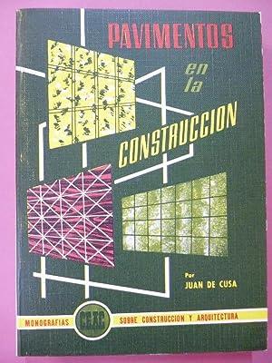 Pavimentos en la Construcción.: Cusa, Juan de.