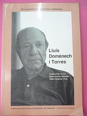 Lluís Domènech i Torres.: Vilà i Tornos, Frederic, et al.