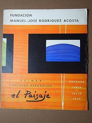 Fundación Manuel-José Rodríguez Acosta. Primer Concurso Exposición: