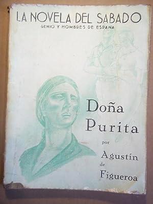 Doña Purita. (Historia de una Solterona.) Portada de Kin. Dibujos de Higuero.: Figueroa, ...