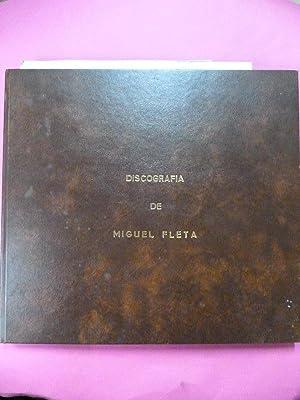 Discografía de Miguel Fleta.