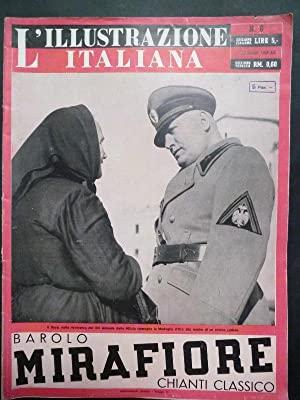 L'Illustrazione Italiana. 8 Febraio 1942.