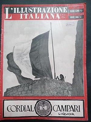L'Illustrazione Italiana. 22 Marzo 1942.