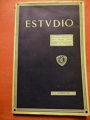 ESTVDIO [ESTUDIO]. Revista Mensual. Año VI, Núm. 69.
