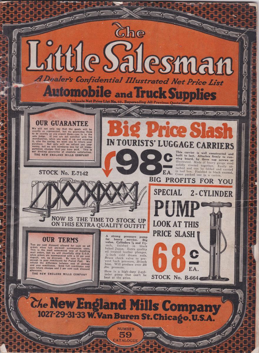 The Little Salesman: A Dealer's Confidential