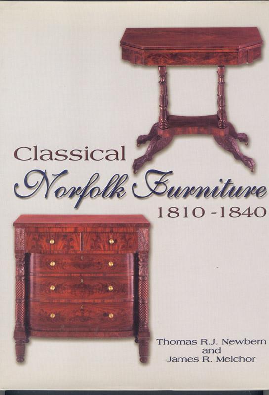 Clical Norfolk Furniture 1810 1840 Newbern Thomas R J James