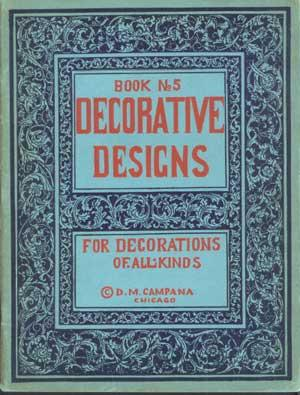 BOOK OF DESIGNING AND HISTORICAL ORNAMENTS. Book No. 5