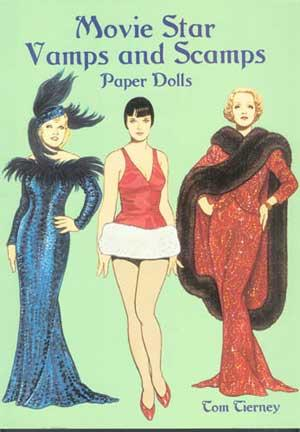 MOVIE STAR VAMPS AND SCAMPS: Paper Dolls