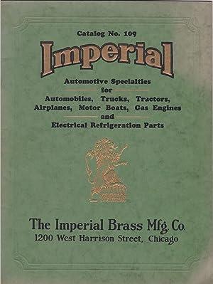 Catalog No. 109: Imperial Automotive Specialties for: Trade Catalogue] The