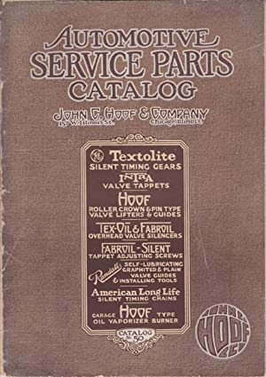 Automotive Service Parts Catalog No. 50: Trade Catalogue] John