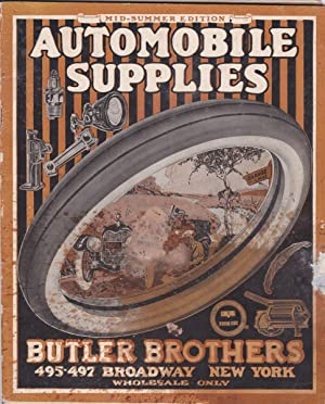 Butler Brothers Automobile Supplies. Mid-Summer Edition: Trade Catalogue]