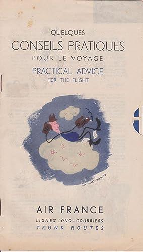 Quelques Conseils Pratiques Pour Le Voyage. Practical: Bayle, Luc-Marie