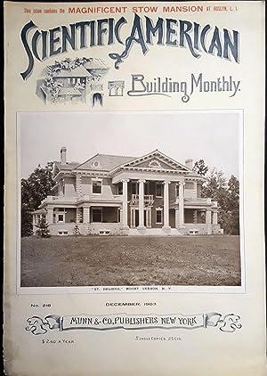 Scientific American Building Monthly. No. 218. December