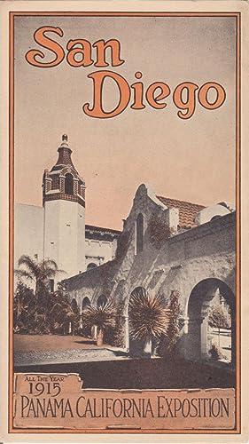San Diego All the Year 1915 Panama: Ephemera