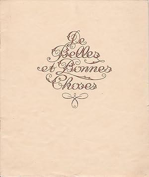 LA CONFISERIE CENTENAIRE JOSEPH NEGRE. Catalogue 1929: Ephemera
