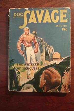 DOC SAVAGE THE WHISKER OF HERCULES: ROBESON, KENNETH