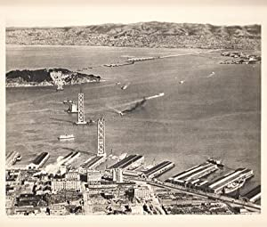 Collection of photographs Marking the Step-by-Step Construction of the San Francisco Bay and the ...