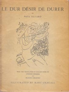 Le Dur Desir De Durer: Eluard, Paul and