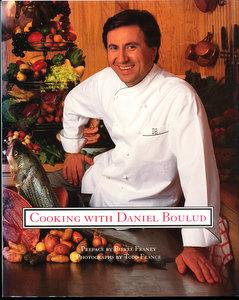 Cooking with Daniel Boulud (SIGNED)