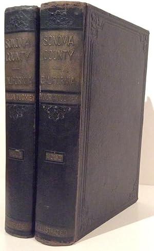 History of Sonoma County California (2 volumes): Tuomey, Honoria