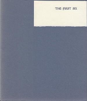 The First Six: Bissinger, Mildred Sherrod