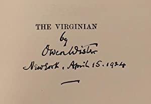The Virginian: A Horseman of the Plains: Wister, Owen (Illustrated