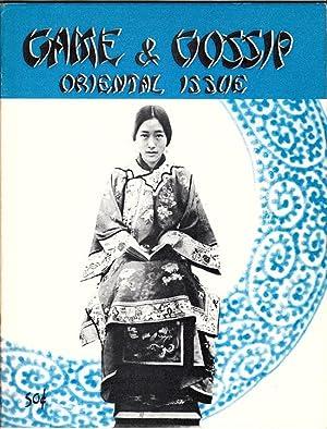 Game & Gossip: Oriental Issue: Harbick, Lee (editor)