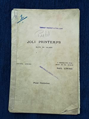 Joli Printemps (Beautiful Spring) for small orchestra