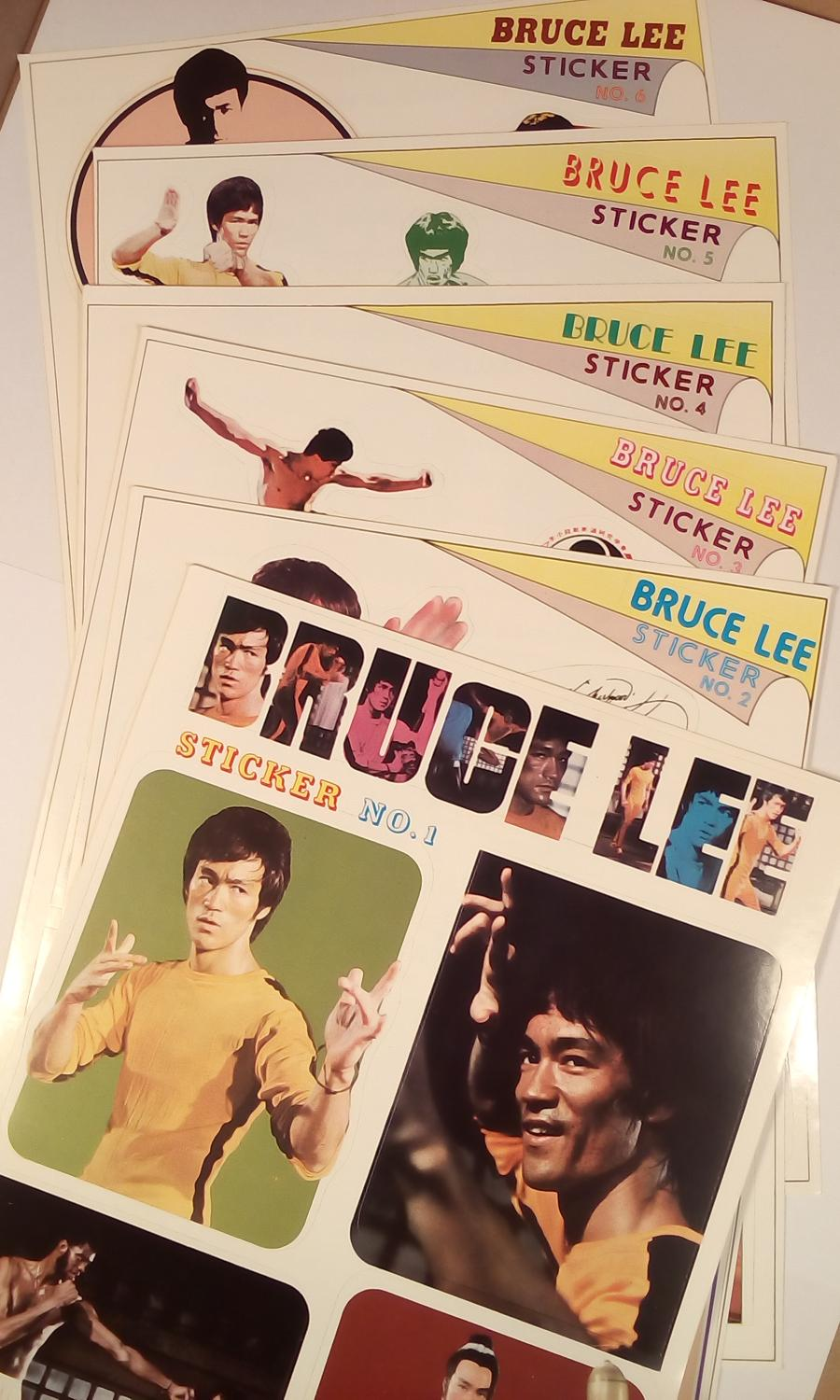Bruce Lee Stickers Bruce Lee As New