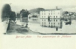 FRANCE - 10 - BAR SUR AUBE CPA CARTE DOUBLE - VACHES A LA RIVIERE - LAVEUSES