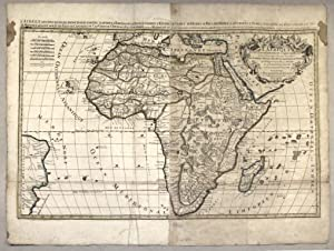 L'AFRIQUE, DIVISÉE SUIVANT L'ESTENDUE DE SES PRINCIPALES: SANSON Nicolas (1600