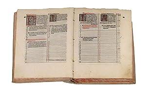 CHRONICON ID EST TEMPORUM BREVIARIUM.: EUSEBIO DI CESAREA (265 ca. - 340 ca.)
