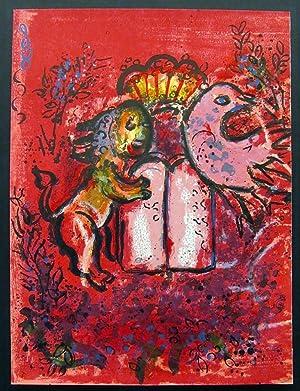 Frontespiece vitraux pour jerusalem da chagall marc for Chagall st paul de vence