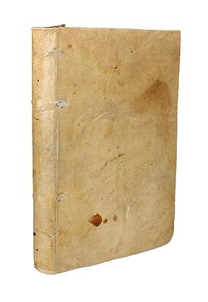 DE METALLICIS LIBRI TRES. ANDREA CAESALPINO AUCTORE.: CESALPINO Andrea (1519-1603)