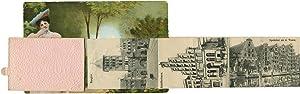 Gruss aus LÜBECK. Leporello-Postkarte (Ansichtskarte).
