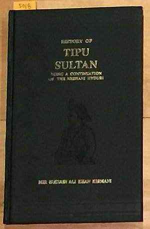 History of Tipu Sultan: Mir, Kirmani