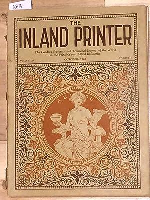 The Inland Printer Vol. 70 no. 1