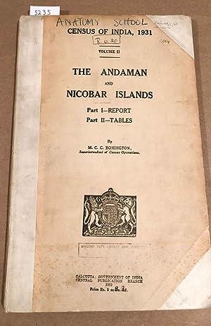 Census of India 1931 Volume II (only): Bonington, M. C.