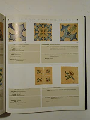 Catálogo de la colección de azulejos de serie del siglo XIX.: ESTALL I POLES, Vicent ...