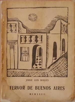 Fervor de Buenos Aires (First edition): Borges, Jorge Luis