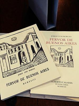 Fervor de Buenos Aires. Facsímil: Borges, Jorge Luis