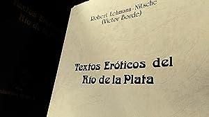 Textos eróticos del Río de la Plata: Lehmann-Nitsche, Robert (Víctor