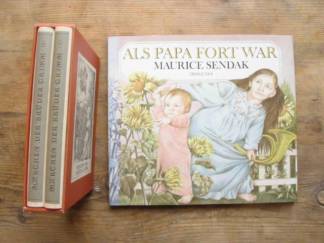 172 Seiten, s-w-Abb., Original-Pappschuber, Diogenes Vlg.-, Zürich: 3 Bücher mit