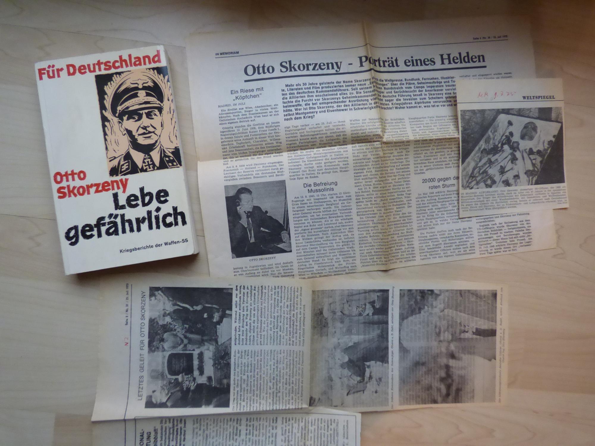 Otto Skorzeny: Lebe gefährlich, dritter Band, Kriegsberichte: Otto Skorzeny