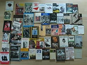 Konvolut von 50 italienischen Büchern zum Bürgerkrieg