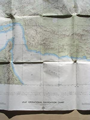 USAF Operational Navigation Chart, H/ [Eastern Iran, western Pakistan and Afghanistan], ca. 1965.
