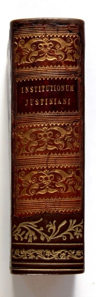 Imperatoris justiniani institutionum libri IV.: Crespin, Jean und