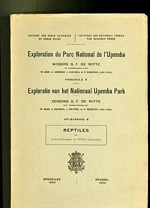 Exploration du Parc National de l`Upemba. Mission: Witte, Gaston-Francois de: