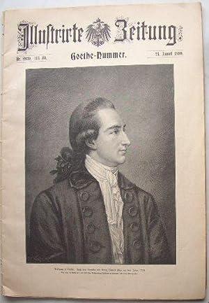Illustrierte Zeitung. Goethe-Nummer 2930, 113. Bd. vom