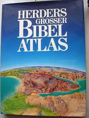 Herders großer Bibel-Atlas - Deutsche Ausgabe: Pritchard, James (Hg.)